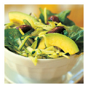 Avocado and Zucchini Salad